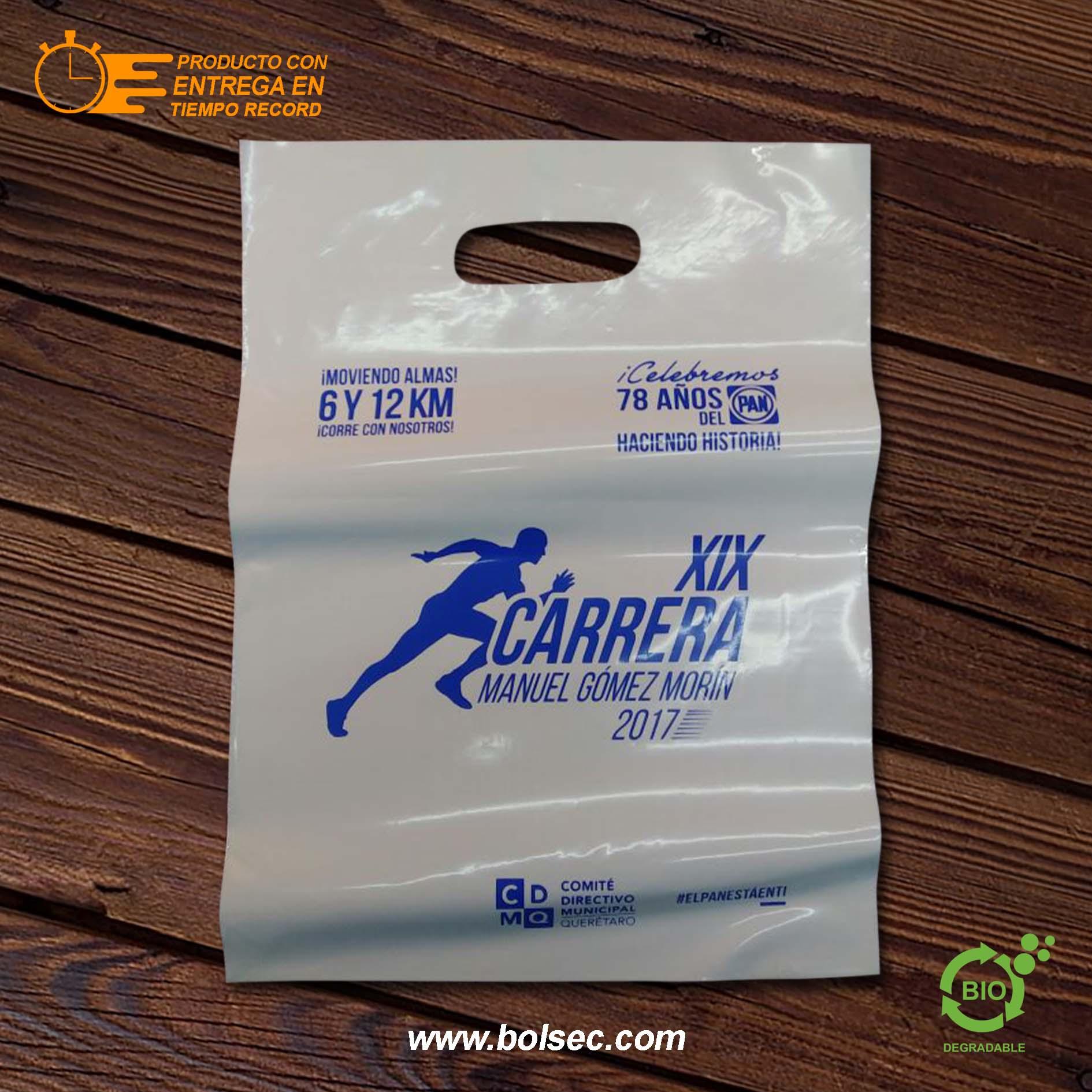 b8cfe5261 Bolsas de Plástico con Suaje Impresas Con Tu Logo, Envío Gratis ...