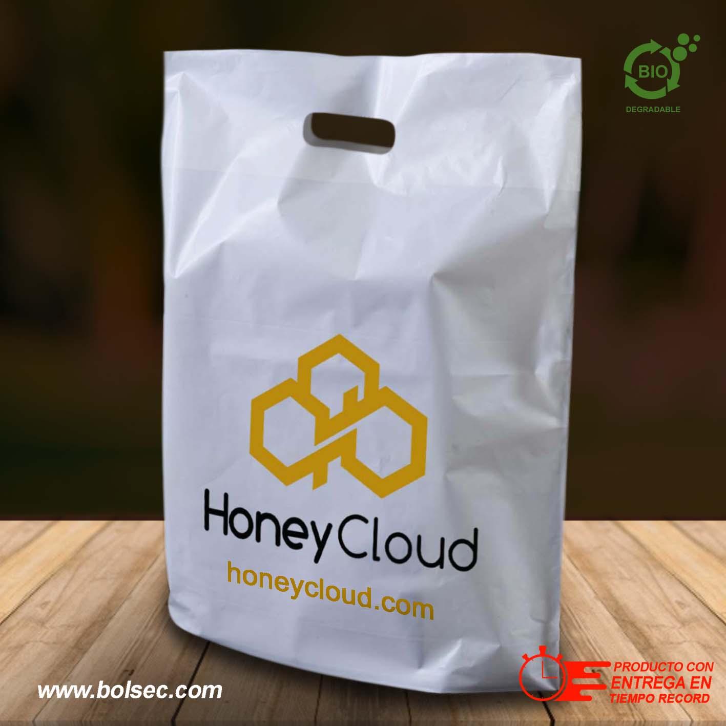 e5dce9ee1 Bolsas de Plástico Tipo Boutique Con Tu Logo Impreso, Desde 100 ...
